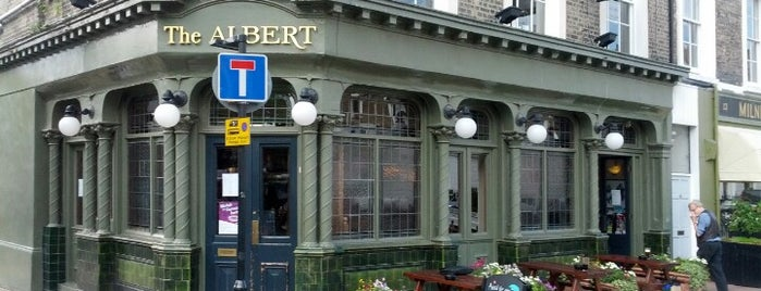 The Albert is one of Camden Pubs.