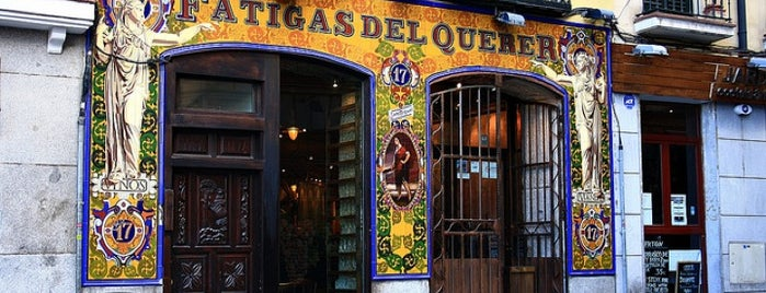 Fatigas del Querer is one of Places we went to in Madrid and Barcelona.
