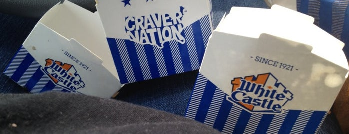 White Castle is one of Cinci Work Food.