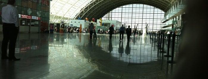 İzmir Adnan Menderes Havalimanı (ADB) is one of Türkiye'deki Havalimanları.