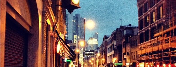 Strongroom Bar is one of Kim's London Favs & Wishlist.