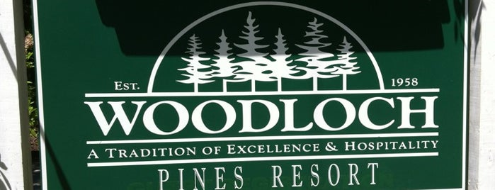 Woodloch Pines Resort is one of Places I have been to.