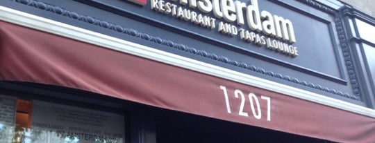 Amsterdam Restaurant & Tapas Lounge is one of Must-Visit Eats/Drinks in NYC.