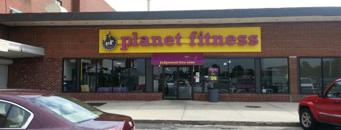 Planet Fitness is one of Lugares favoritos de CJ.