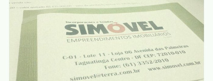 Simóvel Empreendimentos Imobiliários is one of Lugares guardados de Gustavo.