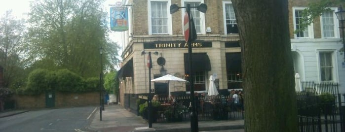 Trinity Arms is one of Tempat yang Disukai Barry.