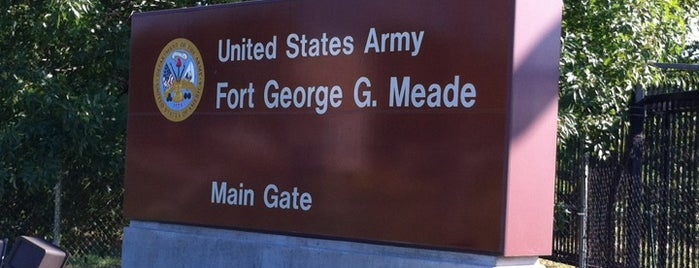 Fort George G. Meade is one of favorites.