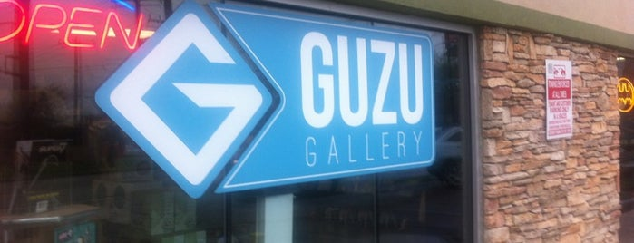 Guzu Gallery is one of Austin.