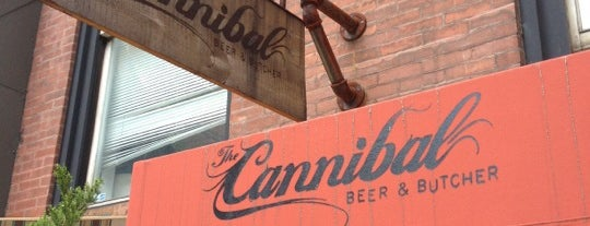 The Cannibal Beer & Butcher is one of Manhattan Bars to Check Out.
