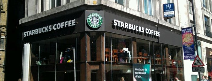 Starbucks is one of Lijst?.