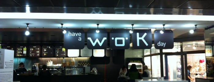 W.O.K. is one of Locais curtidos por M.