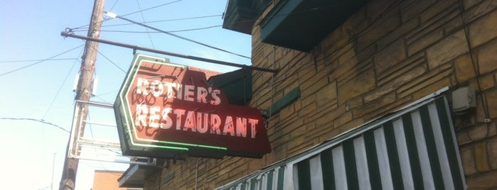 Rotier's Restaurant is one of Nashville To-Do List.