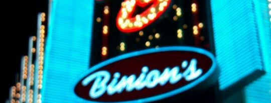 Binion's Gambling Hall is one of CASINOS.