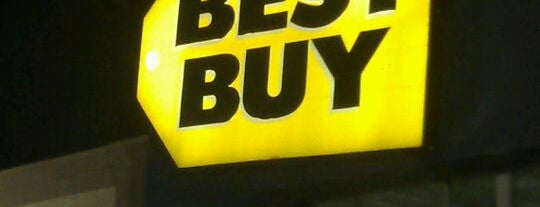 Best Buy is one of check ins.