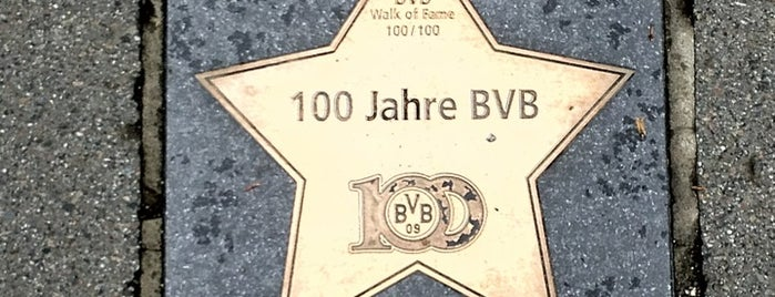 BVB Walk of Fame #100 100 Jahre BVB is one of BVB Walk of Fame.