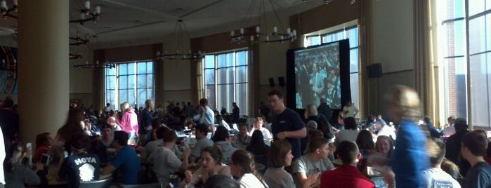 Leo O'Donovan Dining Hall is one of Georgetown Campus Tour.
