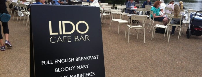 Lido Café is one of London.