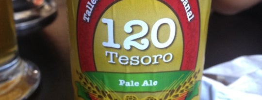 120 Tesoro Brew & Grill is one of QRO.