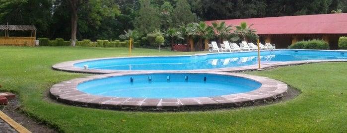 Hotel Mision Conca Arroyo Seco (Queretaro) is one of Rodrigo: сохраненные места.