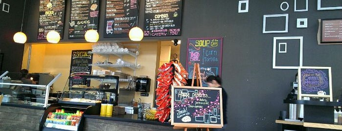 Yellow Dot Cafe is one of Amazon Campus (SLU) Lunch Spots.