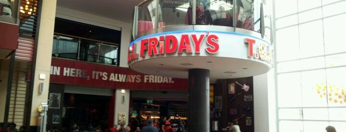 TGI Fridays is one of Cardiff's Best Restaurants.