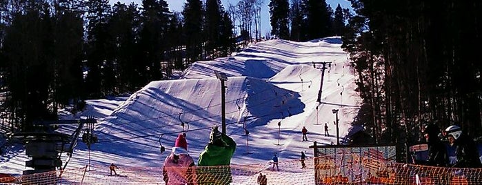 Золотая долина is one of Skii&Snowboard resorts in St.Petersburg.