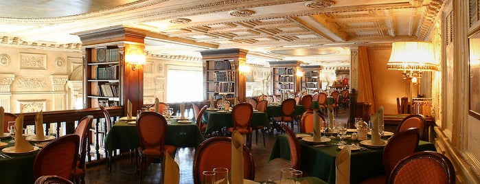 Cafe Pushkin is one of Moscow TOP places.