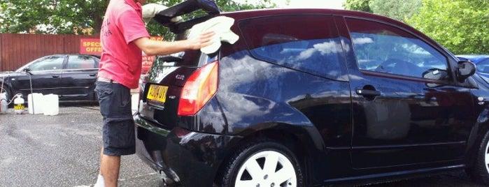 Rushden Car Wash is one of Chris : понравившиеся места.