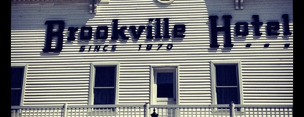 Brookville Hotel is one of Good Chow, Sometimes Weird Places.