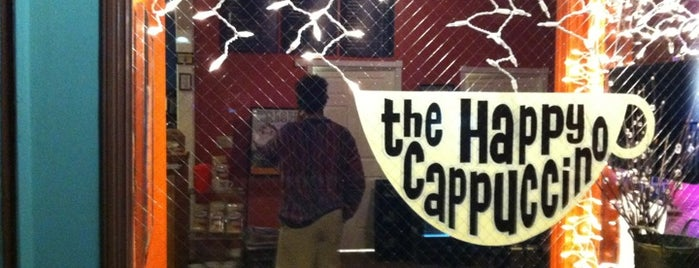 The Happy Cappuccino Coffee House is one of Locais curtidos por Jessie.