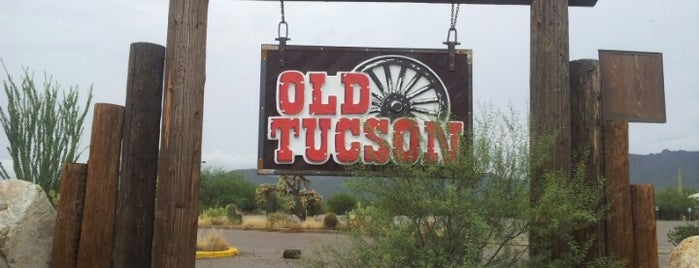 Old Tucson is one of Arizona.