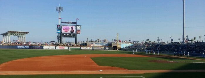 Community Maritime Park is one of Minor League Ballparks.