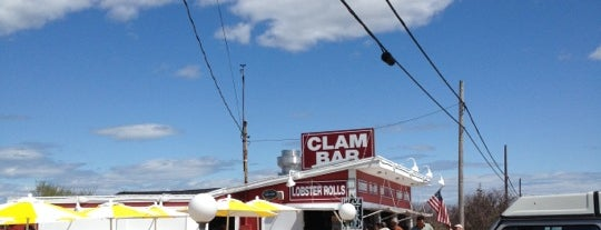 The Clam Bar is one of Out East.