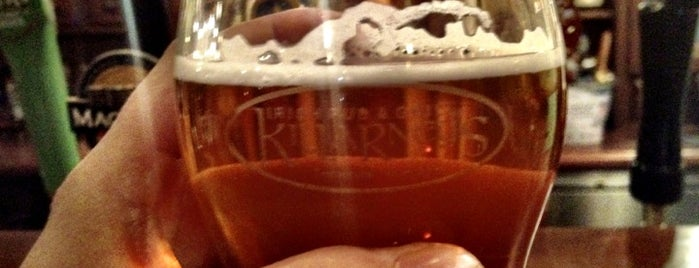 Killarney's Restaurant & Irish Pub is one of Craft Beer in LA.