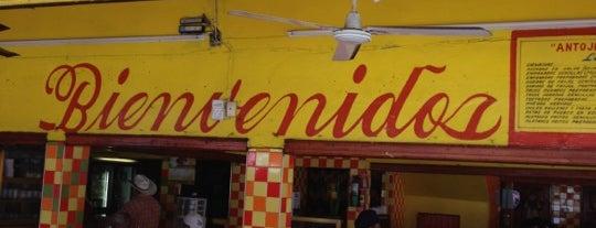 """Antojitos """"Carolina"""" is one of Locais curtidos por Adrian."""