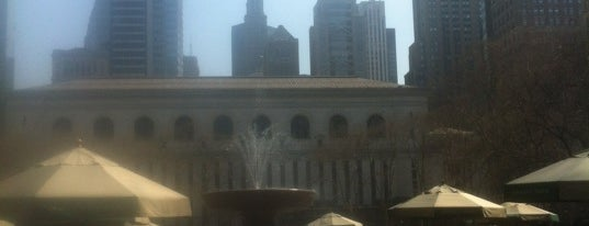 Bryant Park is one of NY To Do.