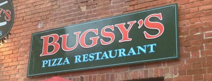 Bugsy's Pizza Restaurant and Sports Bar is one of Orte, die Amber gefallen.