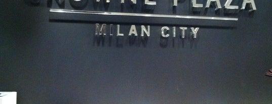 Crowne Plaza Milan City is one of Mahmut : понравившиеся места.
