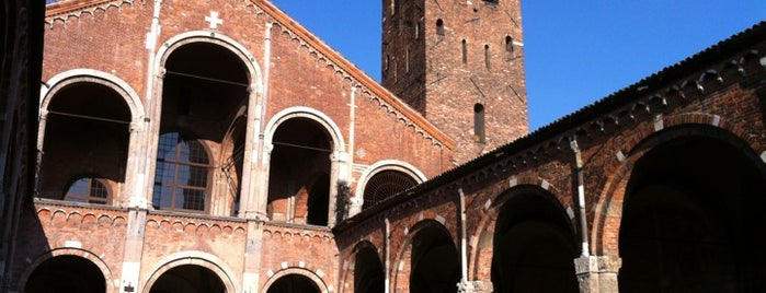 Basilica di Sant'Ambrogio is one of Milano City Guide.