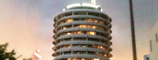 Capitol Records is one of Los Angeles Essentials.