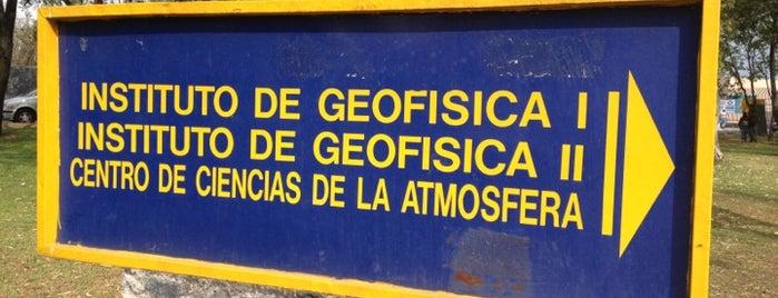 Instituto de Geofísica, UNAM is one of Institutos UNAM.