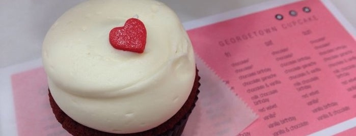 Georgetown Cupcake is one of NY To Do.