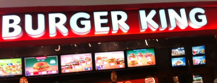 Burger King is one of Orte, die Gilson gefallen.