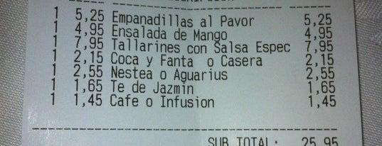 El Rey de Tallarines is one of Comer barato en Madrid.