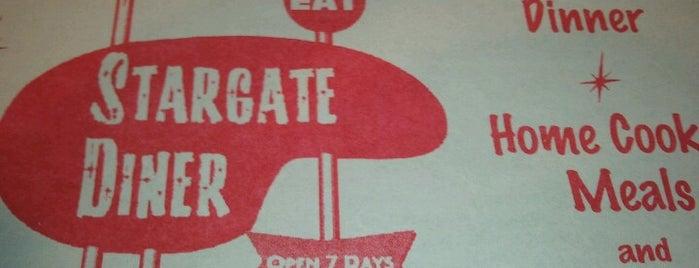 Stargate Diner is one of Delaware.