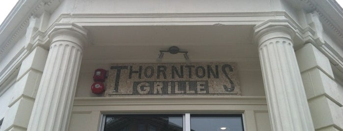 Thornton's Fenway Grille is one of Best places to eat & drink in Boston.