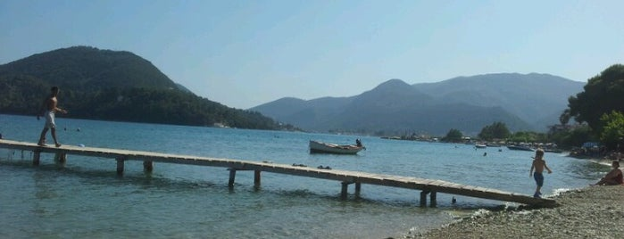 Nydri Beach is one of Beaches in Greece.