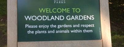 The Woodland Gardens is one of Edwin'in Beğendiği Mekanlar.