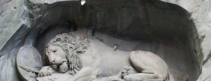 Löwendenkmal | Lion Monument is one of Lugares donde estuve en el exterior.