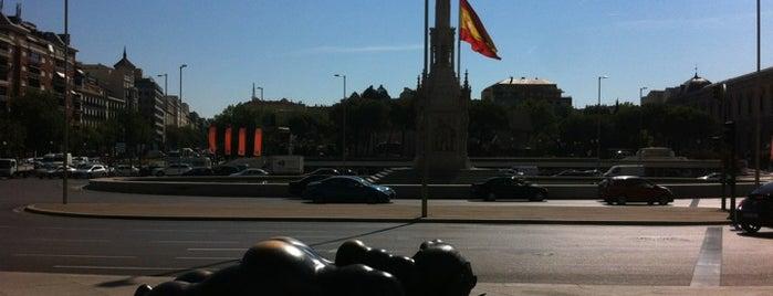 Plaza de Colón is one of Spain.